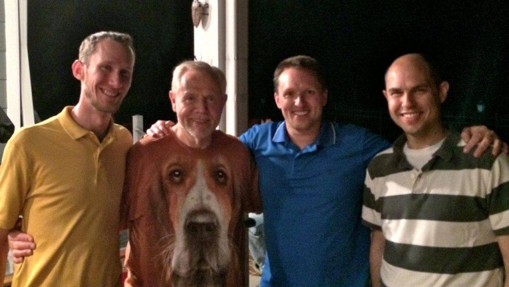 Blake, Jim, Dave, Zach