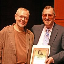 Presentation of ITEA Award to Jim Self by R. Winston Morris