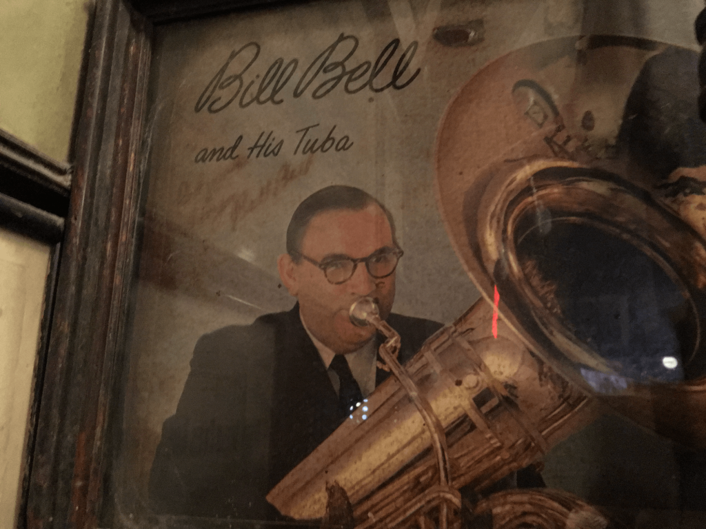 Bill Bell and his Tuba