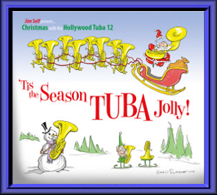 'Tis the Seasson TUBA Jolly cover